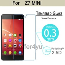 2016 New 9H 2.5D Explosion-Proof Tempered Glass screen film For ZTE Nubia Z7 Mini LCD Film HD Arc Screen Protector Cover Guard