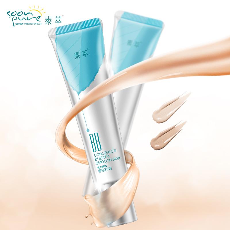 SOON PURE Invisible BB Cream BB CC Cream Base Makeup Foundation Concealer Facial Sunscreen Base Maquiagem Beauty Korean(China (Mainland))