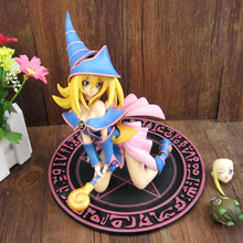 Free shipping Yugioh Sexy Dark Magician Girl Toy Figurine ARC-V Classic Japanese Anima Yu-Gi-Oh! 17cm Model Figure 2015 New