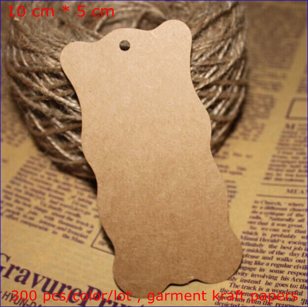 Free shipping 300 pcs/color/lot Brown kraft paper wave edge Cardboard Blank papers New MZ-3018(China (Mainland))