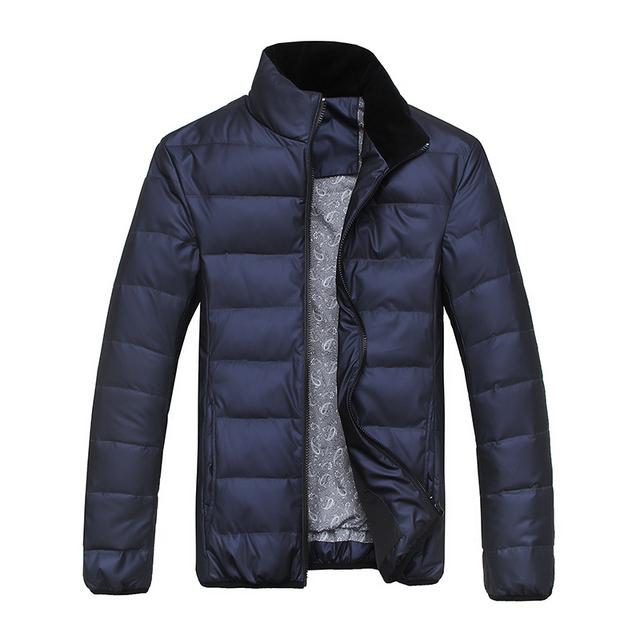 Пуховик, ультра-дешевый лёгкие мужчины в зима марка утка парка пальто куртки спортивная ...