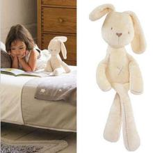 Hot Sale 54*11CM Cute Baby Kids Animal Rabbit Sleeping Comfort Doll Plush Toy
