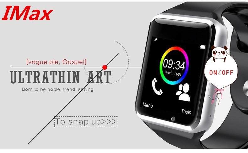 Bluetooth smart watch A1 WristWatch sport Pedometer sim card W8 Smartwatch for IOS and Android Smartphone With SIM PK DZ09 GV18