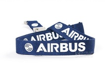 Airbus Sling for Pliot Flight Crew 's License ID Card Holder Boarding Pass String Lanyard Metal Buckle Personality Unique Gift(China (Mainland))