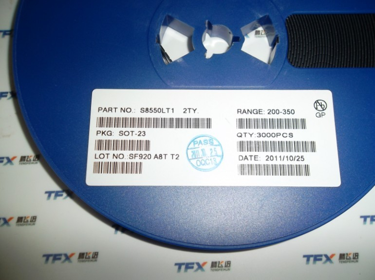 Components of s8550 sot - 23 SMD triode Small current transistor 2 ty--TFXD2(China (Mainland))