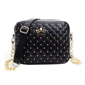 Fashion Women Messenger Bag PU Leather Crossbody Shoulder Bag Ladies Tote Bag bolsa feminina 3 Color M3AO