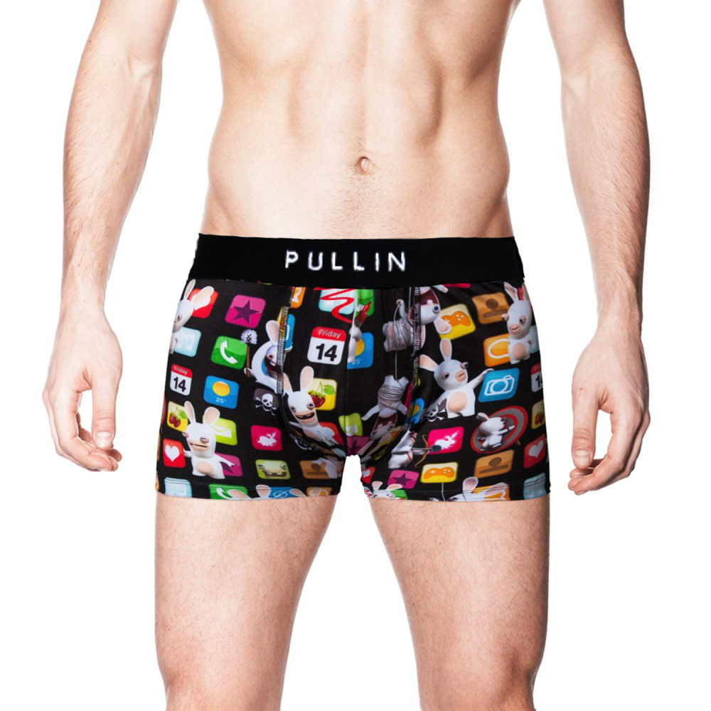 Free shipping Pull in 2015 TRUNK MASTER Lycra Material cartoon men boxer brand sexy men's boxer shorts with retail box packing(China (Mainland))