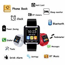 2016 новые Bluetooth U80 смарт часы мтк Smartwatchs спорт для Samsung S4 / Note 2 / Note3 HTC Xiaomi для Android телефон для взрослых U80