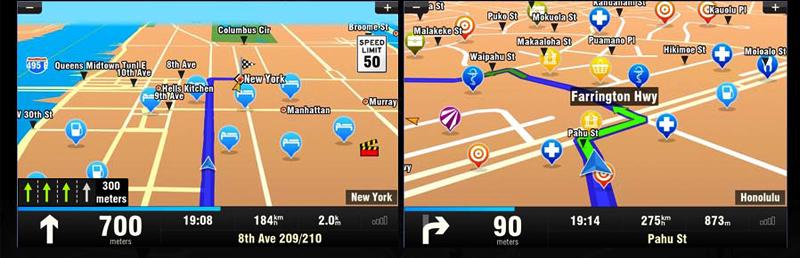 Rear Camera GPS Map 2 Din In dash Car Radio Stereo GPS Navigation 7 Motorized Car