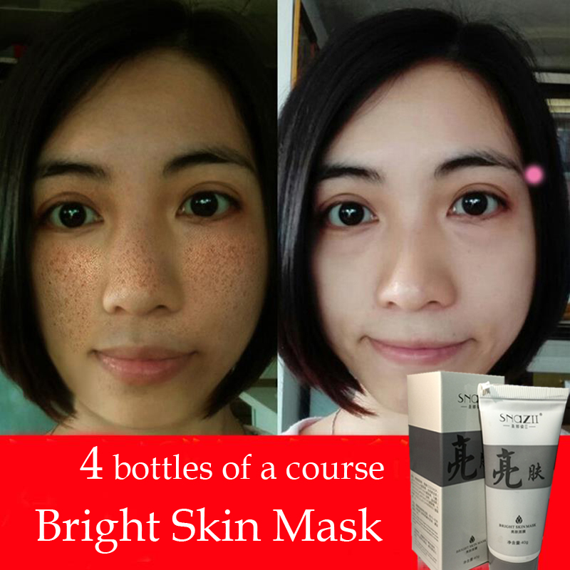 Fade Dark Spots Face Mask Whitening and Spot Removal Products Moisturizing Acne Treatment Exfoliator Anti Wrinkle Skin Care Mask(China (Mainland))