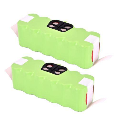 2x 14.4V 3500mAh Vacuum NI-MH Battery For iRobot Roomba 500 510 530 570 580 550(China (Mainland))