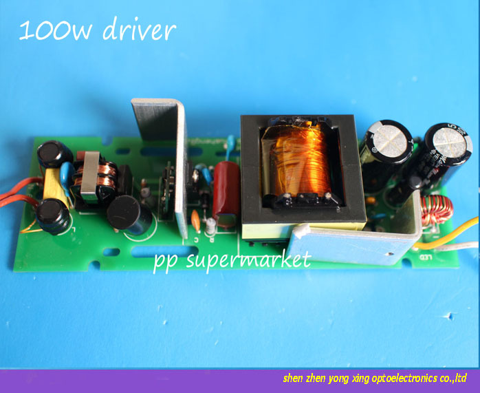 5pcs 100w led built-in drive bare board for mining lamp lights drive power(China (Mainland))