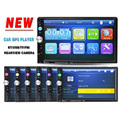 2 Din Car Video Player 7 HD Touch Screen 1080P Bluetooth Stereo Radio FM MP3 MP4