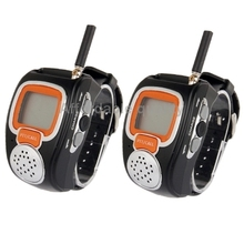 462MHz-467MHz Freetalker Watch Walkie Talkie, Up to 6km of Range, (2pcs in one packaging, the price is for 2pcs), Only US Plug