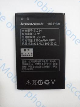 Free Shipping 1300mAh BL214 Battery for Lenovo A208t A218t A269 A305E A269I A316 A300T A360e Mobile Phone