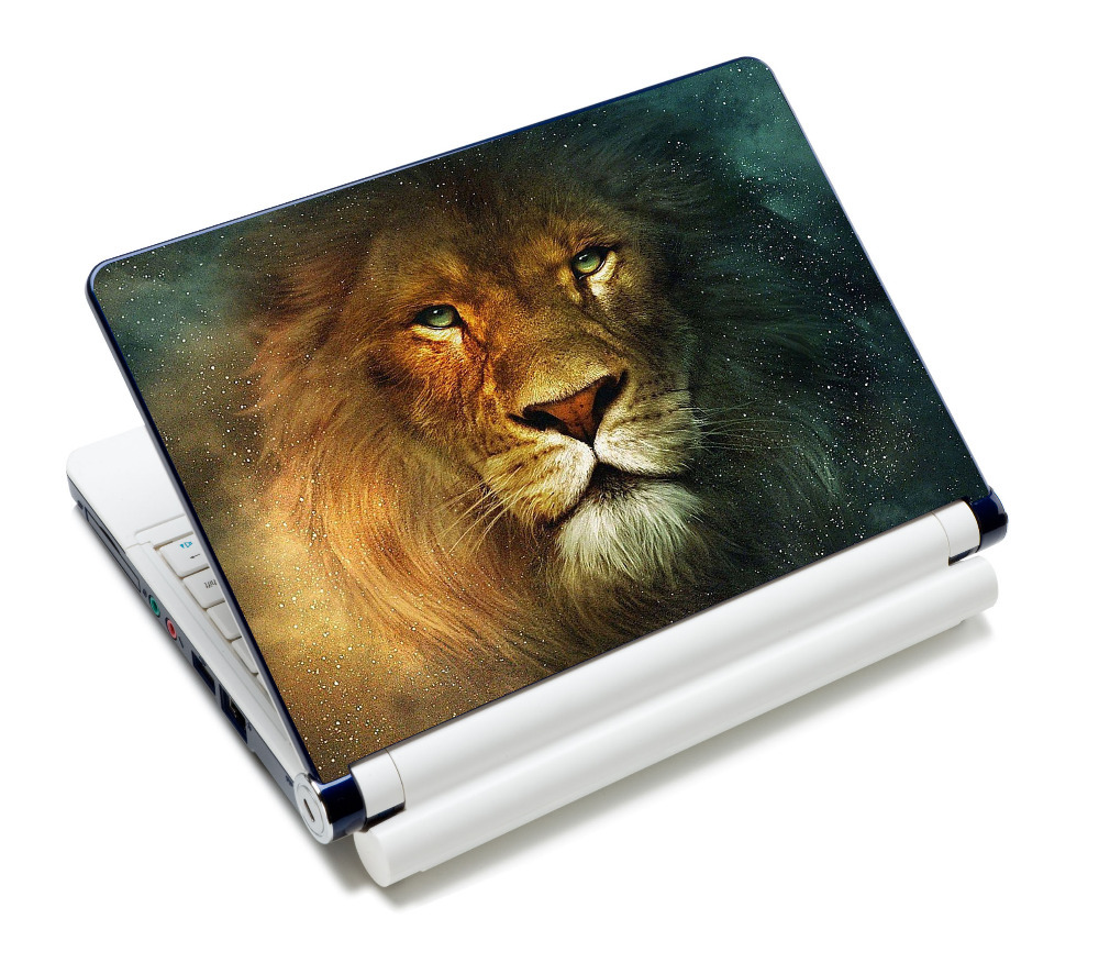 "Fashion Star Lion 13.3"" 15"" 15.4"" 15.5"" 15.6"" inch Universal Protective Laptop Netbook Sticker Cover Protector Notebook Skin(China (Mainland))"