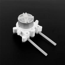 6V DC DIY Dosing pump Peristaltic dosing Head For Aquarium Lab Analytical water(China (Mainland))