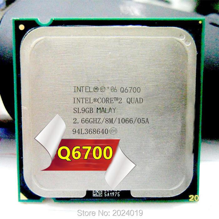 Q6700 SLACQ Intel Core 2 Quad Processor 2.66GHz 8MB Quad-Core FSB 1066 Desktop LGA 775 CPU(China (Mainland))