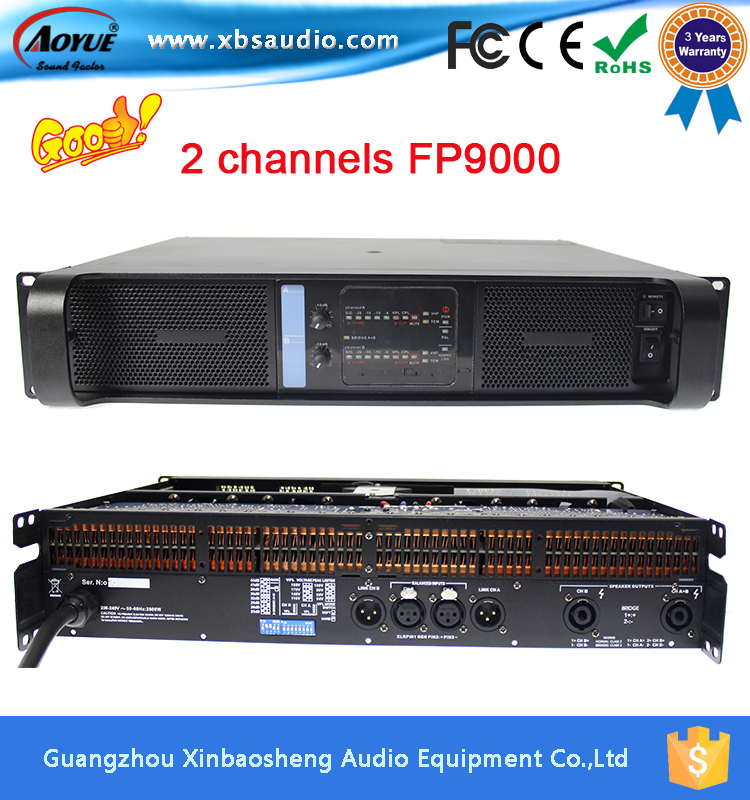 FP9000 Switch Systems 1800W Pro Audio High Sound Power Amplifier for Lab Gruppen with 3 years warranty(China (Mainland))