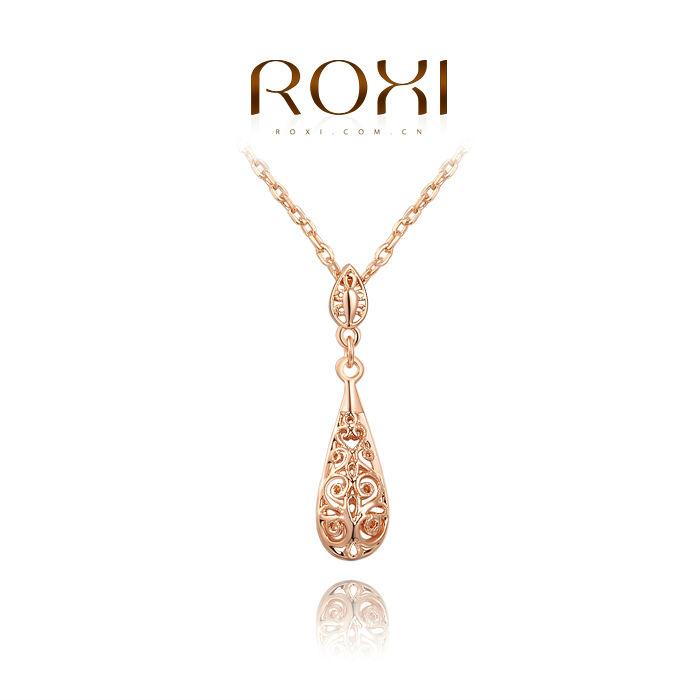 ROXI New Brand Necklace Fashion Jewelry Pendant Necklace Statement Necklace Women Choker Crystal Necklaces & Pendants(China (Mainland))