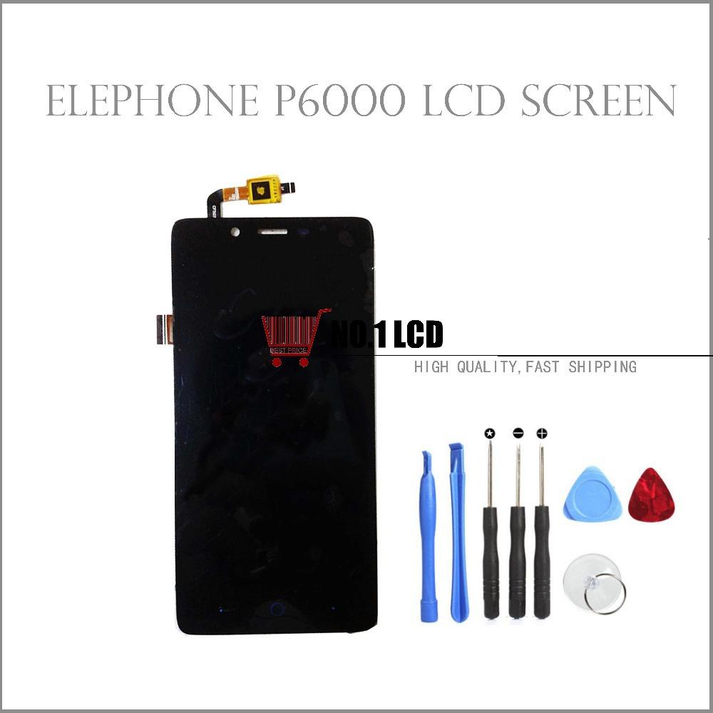 NO1.LCD P6000 Lcd 100% /+ P6000 Elephone P6000 lcd no1 lcd 5 0 zte z5s nx503a assemblely