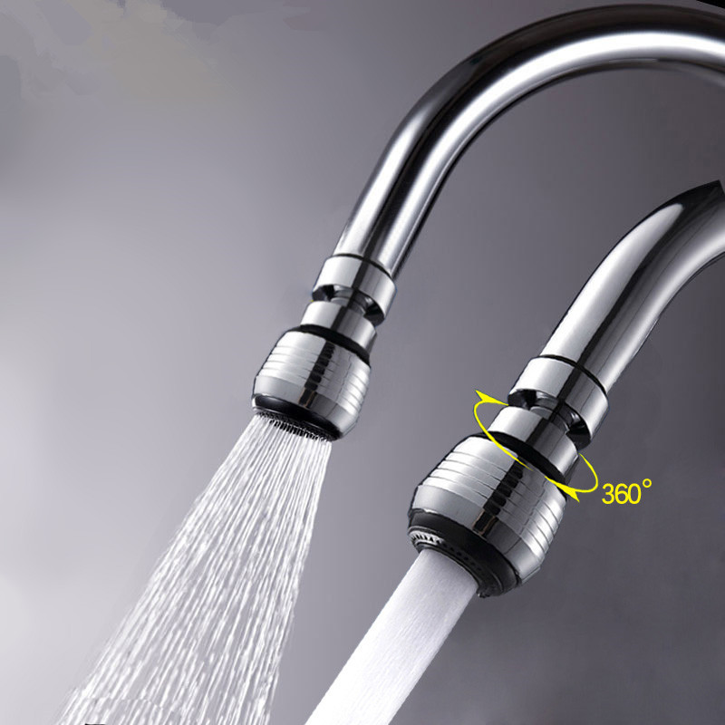 Swivel 360 Rotate Water Saving Faucet Mixers & Taps Aerator Nozzle Filter Bathroom Kitchen Faucets Accessories Free Shipping(China (Mainland))