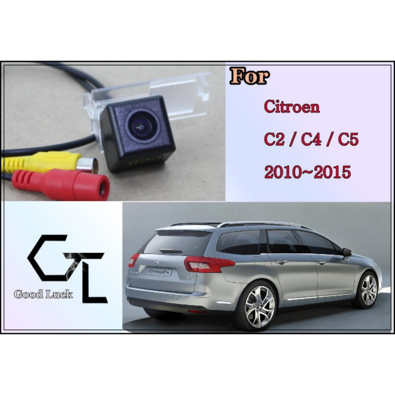 For Citroen C2 C4 C5 2010 ~ 2015 wireless Car Reverse Backup CCD HD Night Vision Parking Assistance Rear View Camera(China (Mainland))