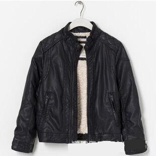 Black Leather Jackets For Boys - Jacket