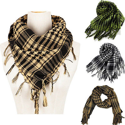 Hot New Army Military Tactical Keffiyeh Shemagh Arab Scarf Shawl Neck Cover Head Wrap A(China (Mainland))