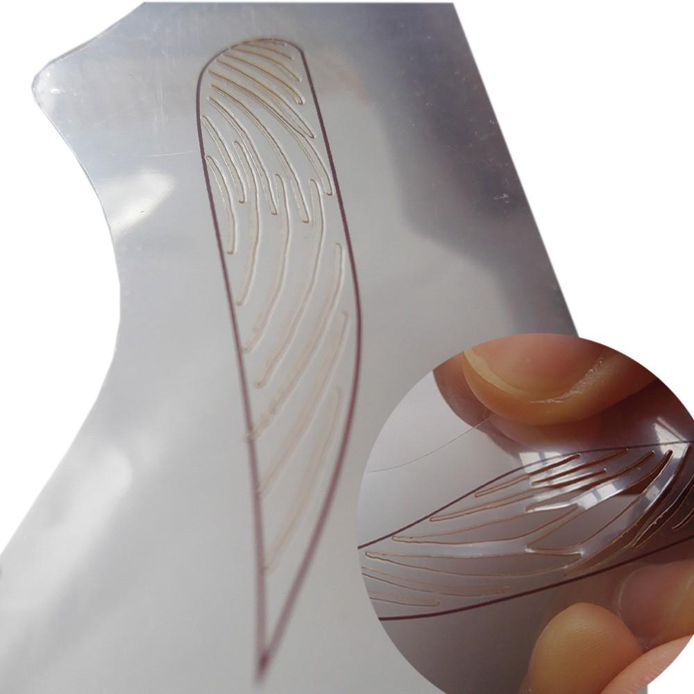 12 Kinds Eyebrow-shaped Permanent Mold Template Design Thrush Card Eyebrow Tattoo Card Makeup 1 Set