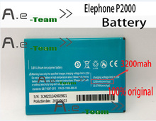 Elephone P2000 аккумулятор оригинал 3200 мАч новый аккумулятор для Elephone P2000C Octa ядро смартфон в наличии бесплатная доставка + трек код