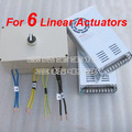 Input AC 100 240V output DC 24V 30A For six linear actuator power supply Go and