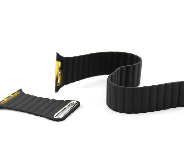 100% новое поп кожа петля-фильтр типа ремешок для часов iwatch ремешок магнитная пряжки для Apple , часы 38 мм / 42 мм