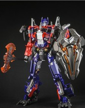 American movie Optimus Prime action robot figure toy classic toys for boys Birthday gift Voyager version