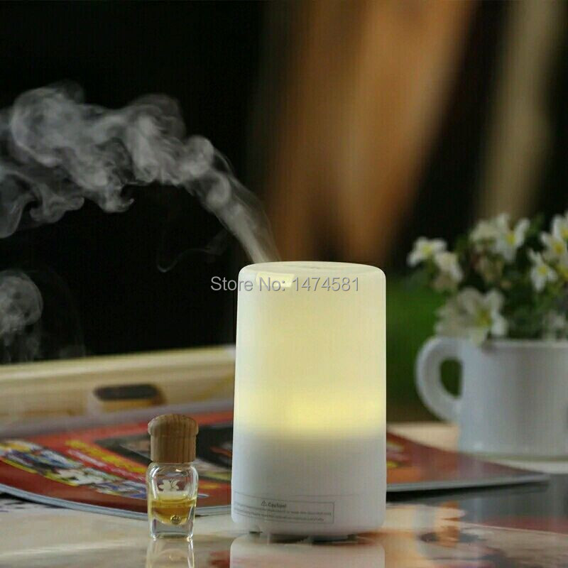 High quality usb ultrasonic aroma diffuser fragrance candle lamp,essential oil diffuser,difusor de aroma for 2015 unique gift(China (Mainland))