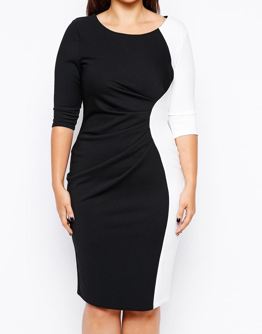 Clothing for full figured women