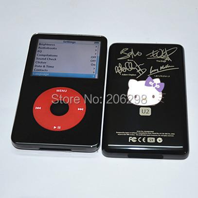iPod Video 5.5th Generation U2 Special Edition 128GB SSD Memory 1800mAh Battery
