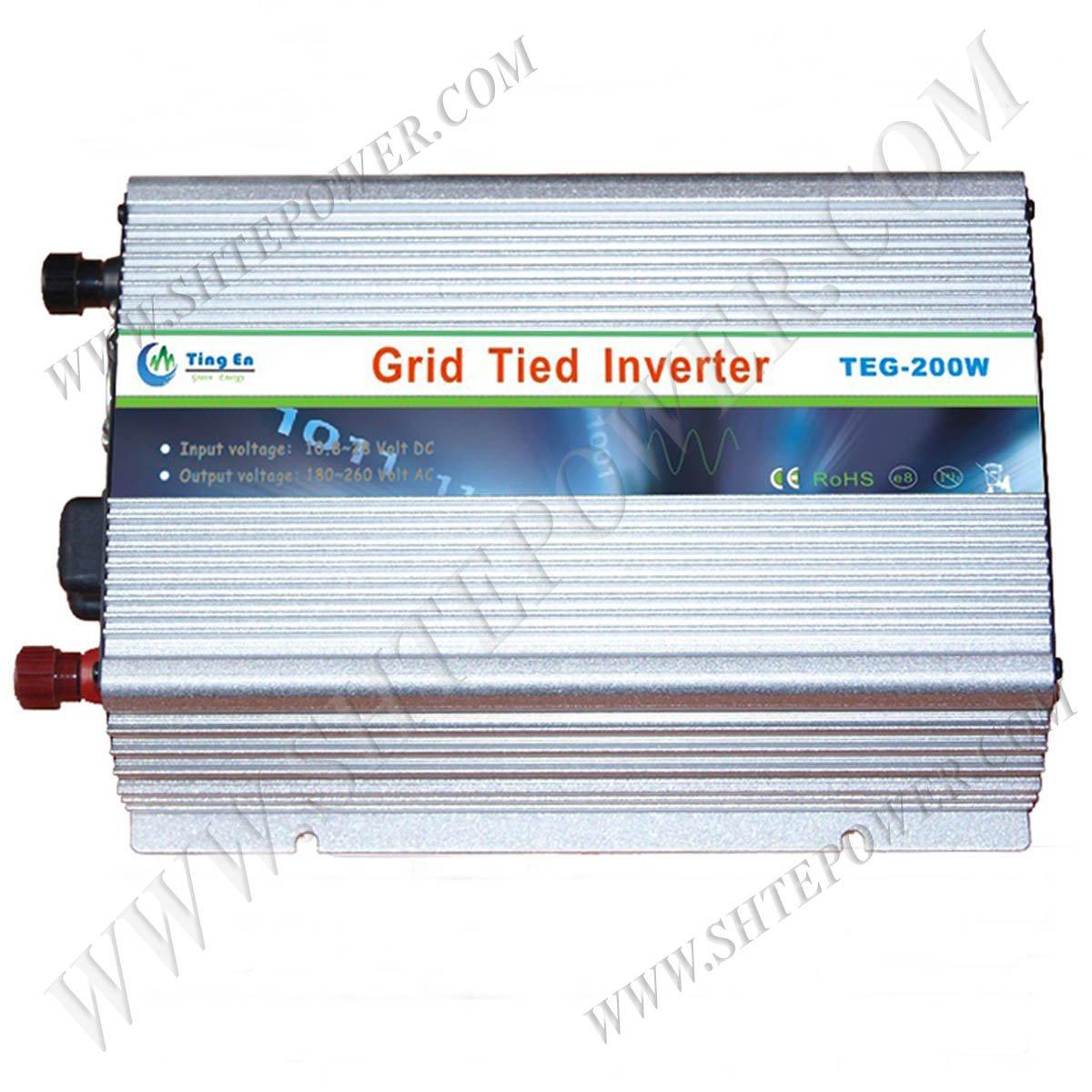 200W Grid Tie Inverter, MPPT Function, Solar On Grid Inverter 200w(China (Mainland))