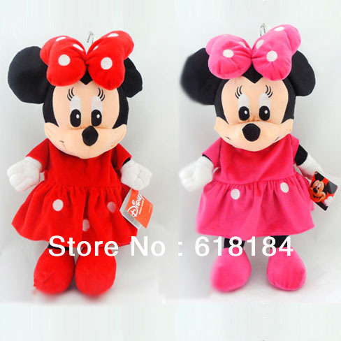 2013 new arrives Free shipment kawaii backpack baby mickey mouse plush toys for girls fashion cute korean backpacks kindergarten(China (Mainland))
