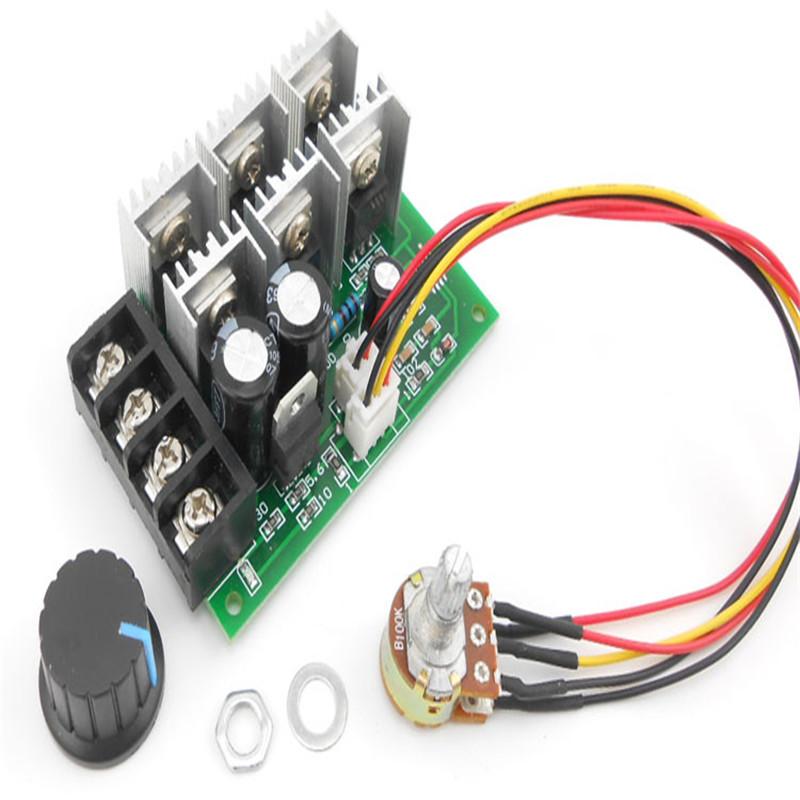 Pwm Dc Speed Motor Controller 12v 24v 36v 48v 40a For