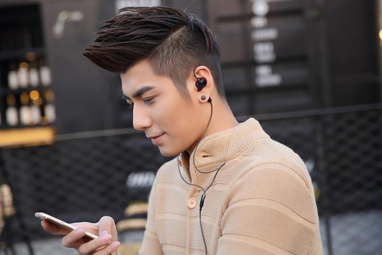 KZ ZS1 אוזניות כפול יחידה בתוך אוזן אוזניות אוזניות Audifonos KZ אוזניות Auriculares בס HiFi אוזניות עם מיקרופון