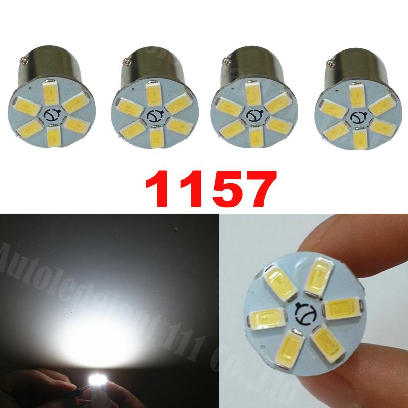 4pieces High Power White 1157 BAY15D Led 6 SMD 5630SMD Auto Turn Stop Brake Light Tail Lamp Bulb Car LED Light bulb 12V(China (Mainland))