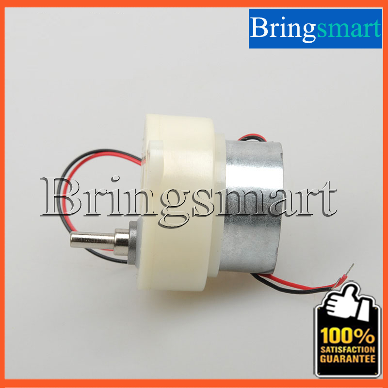 300 Mini Gear Motor 12rpm/24rpm/48rpm Low rpm DC Motor 3V/6V/12V Motor Shaft length 10mm DIY Car Motor Reductor Bringsmart(China (Mainland))
