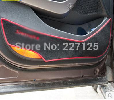 Interior Mouldings Door protection pad car accessories for HYUNDAI Santa Fe(IX45)<br><br>Aliexpress