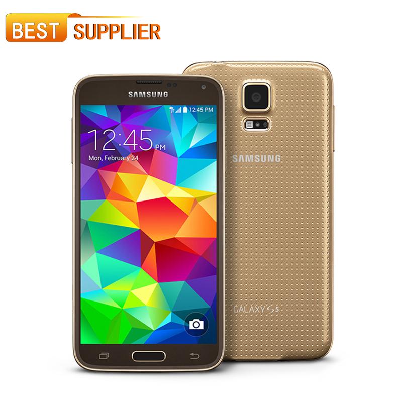 2016 Hot Sale Smartphone Original Samsung Galaxy S5 i9600 SM-G900 16MP Camera Quad-core 3G GPS WIFI 5.1'' Screen Unlocked Phone(China (Mainland))