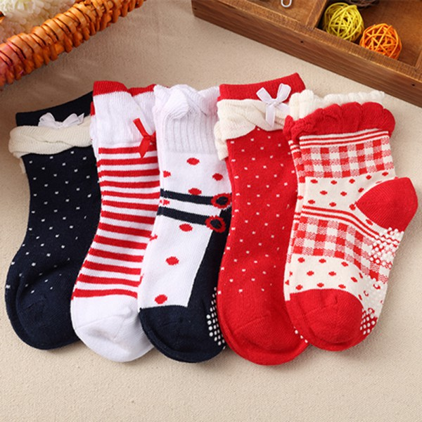 100% cotton Baby socks rubber slip-resistant cartoon small kid\s socks 0--3Y meias bebe Free shipping<br><br>Aliexpress