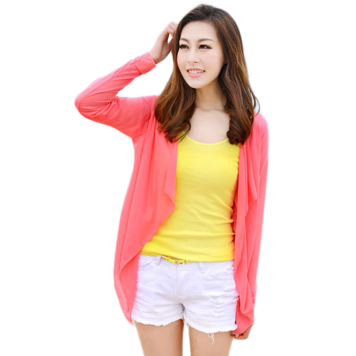 2015 Summer Yellow Crochet Shirt Long Tops Women Casual Long Sleeve Blouses Camisa Blusa Renda Feminina(China (Mainland))