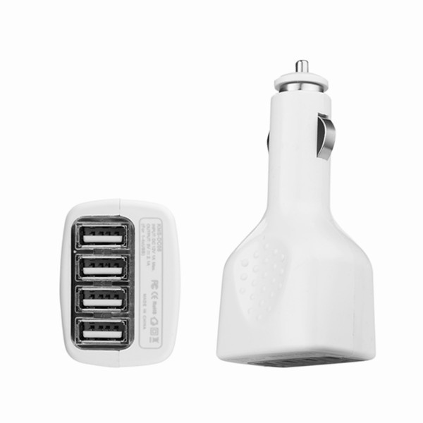 original 4 USB interface mini car charger iphone 3 5 6 samsung lenovo jiayu xiaomi mobile ALL cell phone tablet MP3 MP4 - SPEDU huaqiangbei Store store