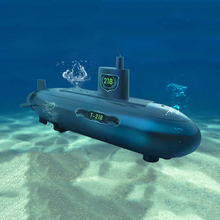 Experiment Submarine RC Model for Kids Electric Remote Control Submarine Child Educational Toys(China (Mainland))
