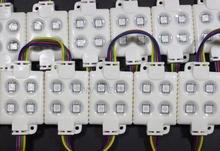 40 шт. 5050 4LED модуль RGB водонепроницаемый рекламировать освещение ну вечеринку фея света 12 В